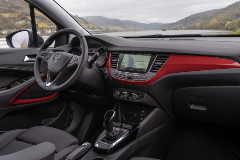 Opel Crossland: kruisende wegen