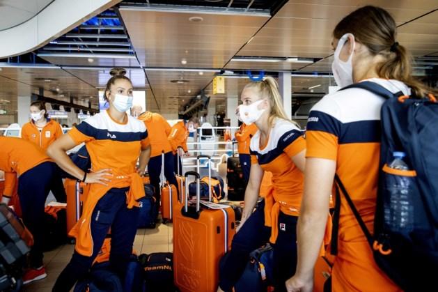 Japan besluit donderdag over toeschouwers bij Spelen, Oranjevrouwen gearriveerd in Tokio