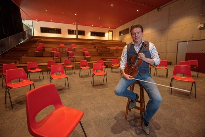Violist Guido Dieteren gaat met zijn orkest weer de bühne op: de maestro maakt een kickstart