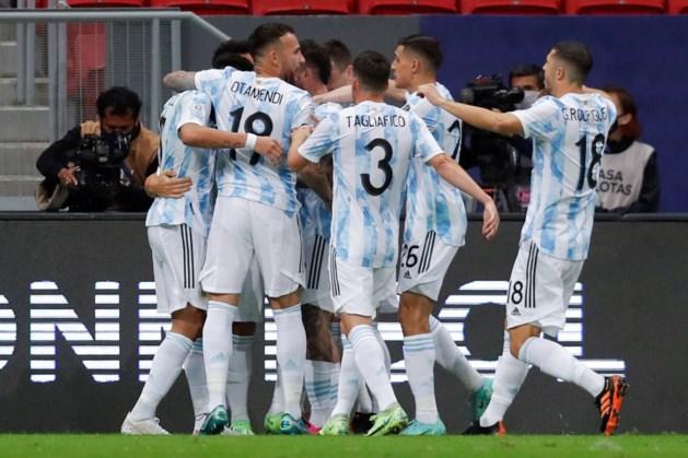 Argentinië verslaat Colombia en treft Brazilië in finale Copa