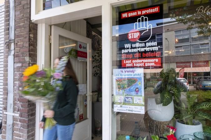 Ondernemers Veld en Vrijveld krijgen nul op rekest bij gemeente; boosheid over invoeren betaald parkeren groeit