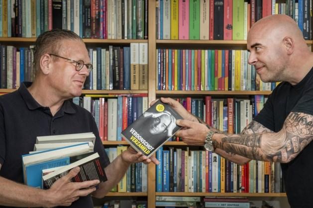 Leon Verdonschot en Marja West naar boekhandel Krings in Sittard