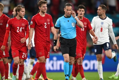 Voormalige scheidsrechtersbaas niet blij met strafschop voor Engeland: 'Hulp bleef uit voor Danny Makkelie'