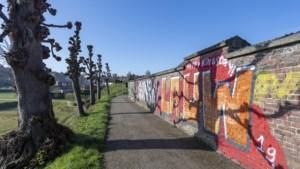 Monumentale stadswallen in Sittard voor 14 mille verlost van 'ergerniswekkende' graffiti