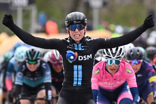 Wielrenster Wiebes wint achtste etappe in Giro d'Italia