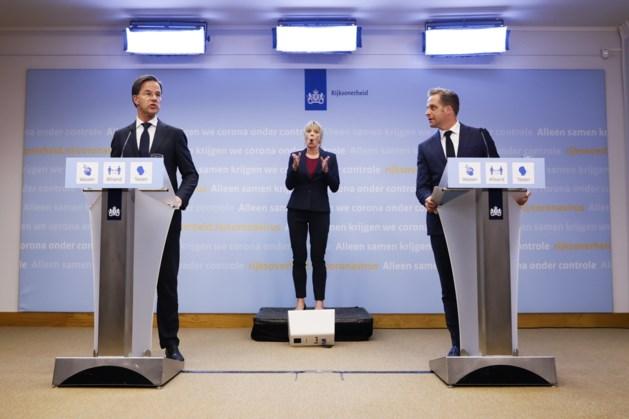 Rutte en De Jonge geven persconferentie over besmettingscijfers