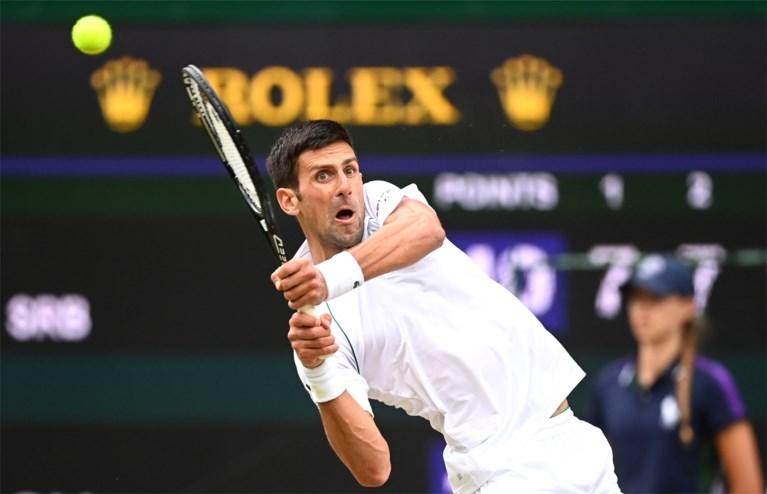 Novak Djokovic bereikt Wimbledon-finale na winst in drie sets tegen Shapovalov