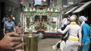 Maasmechelen decor internationaal kampioenschap orgeldraaien