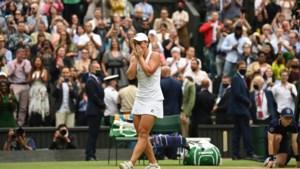 Barty verovert op Wimbledon tweede grandslamtitel