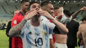 Eindelijk grote prijs voor Messi, Argentinië wint Copa