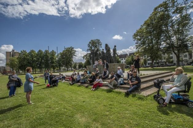 Film voor 100 man in de openlucht in Vrijheidspark