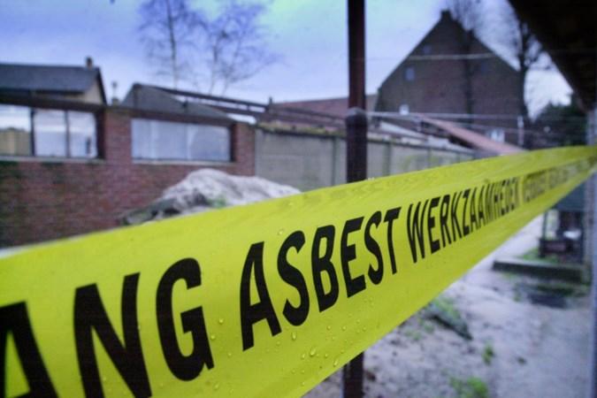 Stukken asbesthoudend materiaal in Meerssen na hevige regenbuien plotseling verdwenen