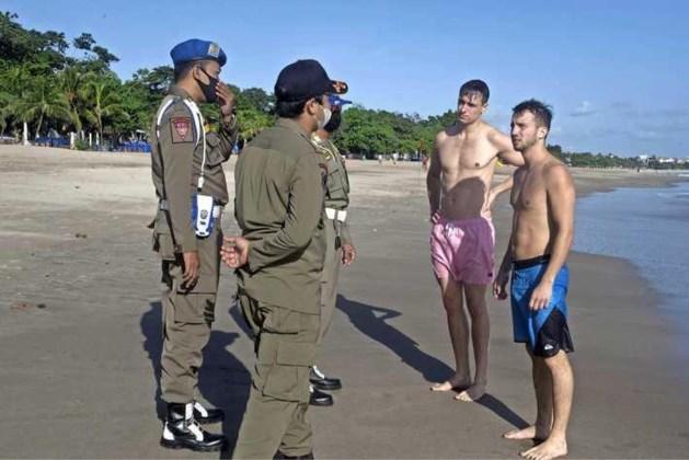Bali stuurt toeristen zonder mondkapje genadeloos naar huis