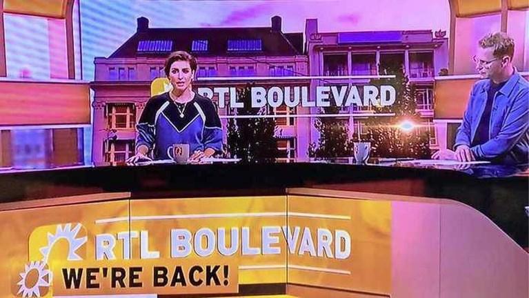 RTL Boulevard terug op de buis: 'Het was spullen pakken en weg!'