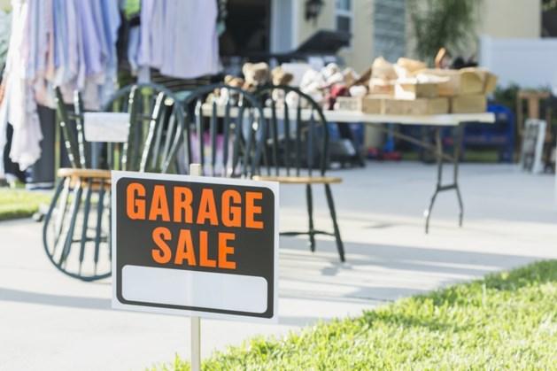 Garage sale in Meerssen, aanmelden kan nog