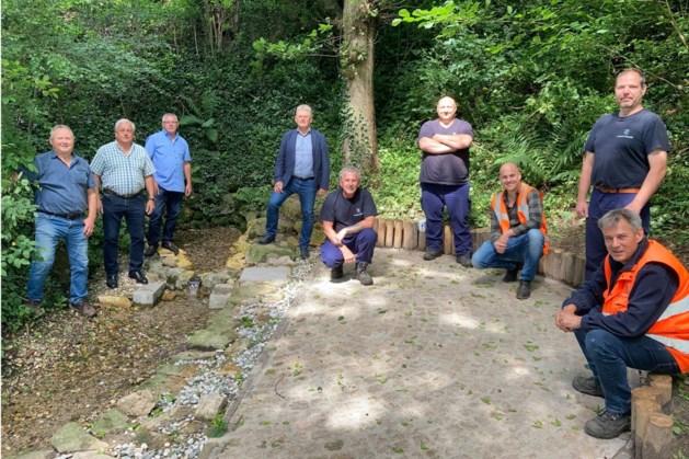 Terrein rondom 't Stjee-putsje opgewaardeerd dankzij initiatief van Bocholtzenaar Hub van der Linden