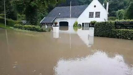 Video: Familie vol ongeloof: woning Oliemolen loopt voor de tweede keer onder water