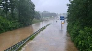 A79 opnieuw dicht: door wateroverlast geen verkeer mogelijk