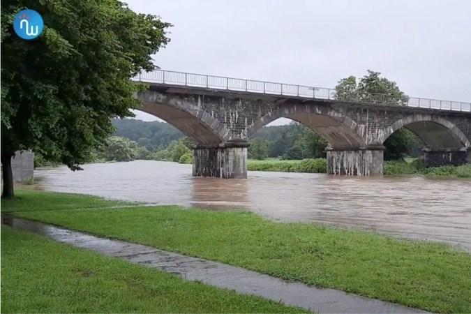 Belgische provincies Luxemburg, Luik en Namen zwaar getroffen: 'Voor ons huis had zich een rivier gevormd'