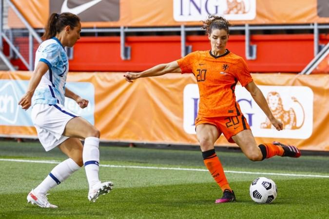 Voetbalsters spelen met Janssen en Martens in de basis in testwedstrijd gelijk tegen Canada