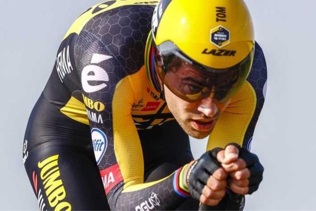Tom Dumoulin 'solliciteert' voor olympische triatlon na training in overstroomd Limburg