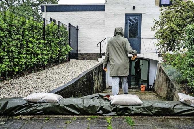 Code rood voor Limburg: ernstige wateroverlast verwacht