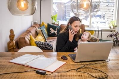 Onderzoek: thuiswerken voor moeders van jonge kinderen soms erg lastig