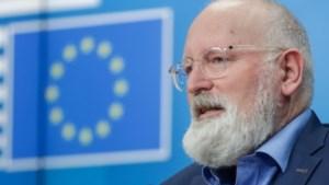 Timmermans over strijd tegen broeikasgassen: 'We breken door muren heen'