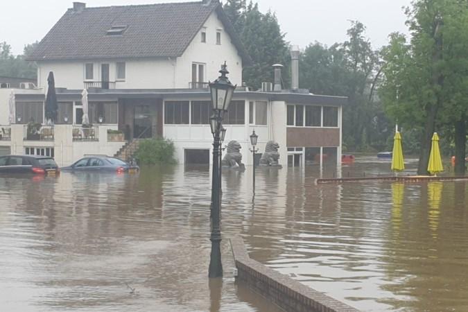 Nieuw attractiepark Geulhof in Meerssen onder water, opening weken uitgesteld