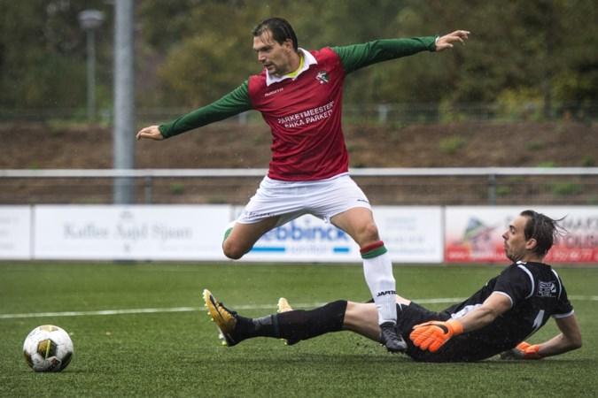 Snel, behendig en een neusje voor de goal: Danny Schreurs vervolgt zijn loopbaan bij VV Maastricht West