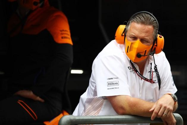 Drie teamleden McLaren testen positief op corona in Silverstone