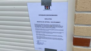 Burgemeester sluit twee woningen in één straat in Nieuwstadt na aantreffen hennepplantages