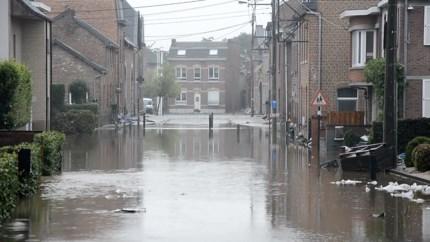 Twintiger verdronken bij Eupen, Maas buiten de oevers bij Luik