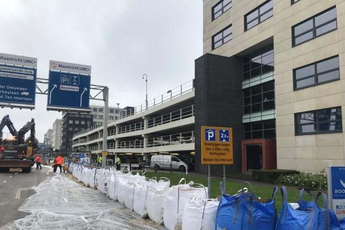 Maastricht UMC  schaalt zorg af vanwege slechte bereikbaarheid door hoog water