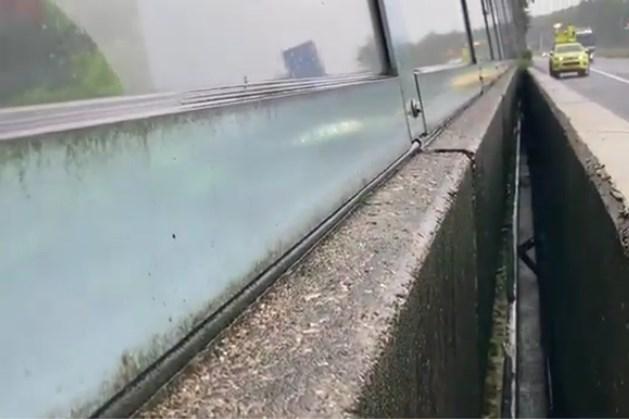A2 bij Meerssen in beide richtingen dicht vanwege overstromingsgevaar