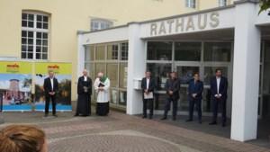 Burgemeester Beesel neemt deel aan Mayors of Peace in Brüggen