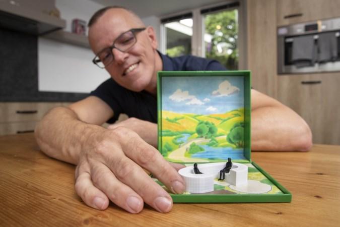 Van krabbeltje tot gepatenteerd schaalmodel: raadslid Thijs Wetemans ontwerpt zelf een coronamonument