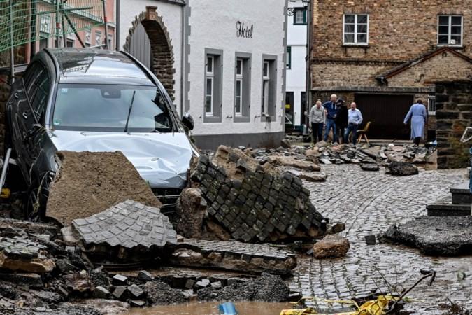 Aantal doden in Duitsland door extreme regen loopt op tot twintig