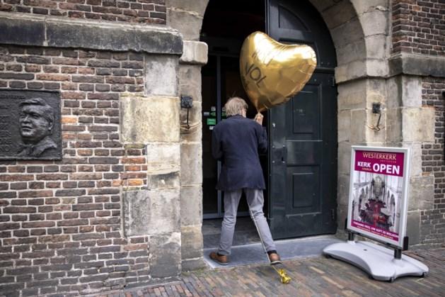 Al veel aanloop bij Amsterdamse Westerkerk voor Peter R. de Vries