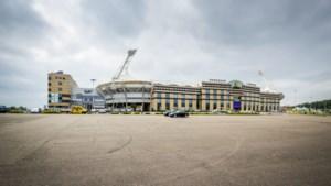 Aanleg grasmat in Parkstad Limburg Stadion vertraagd door extreme regenval