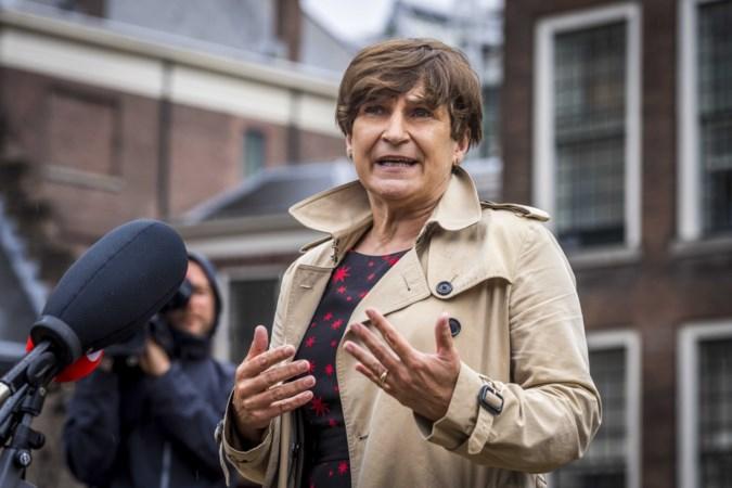 PvdA-fractievoorzitter Ploumen bezoekt rampgebied