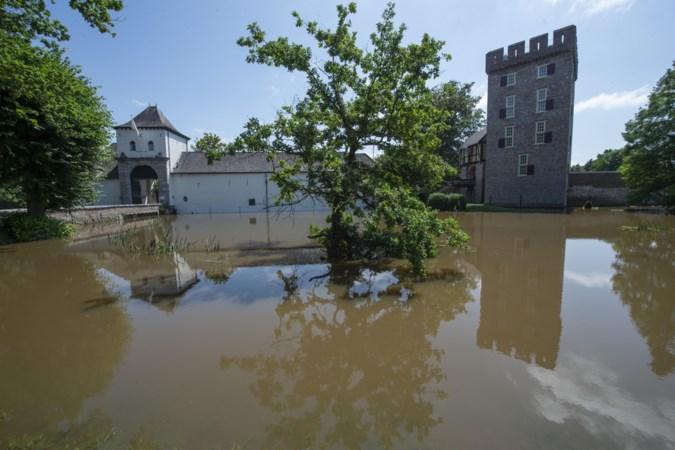 Grote schade aan Kasteel Daelenbroeck in Herkenbosch, terras gaat wel weer open