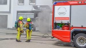 Flinke rookontwikkeling bij brand in frituur