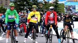 De vier truien vertellen het verhaal van de Tour de France