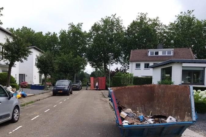 Water zakt, maar grondwater blijft in Valkenburg kelders binnensijpelen