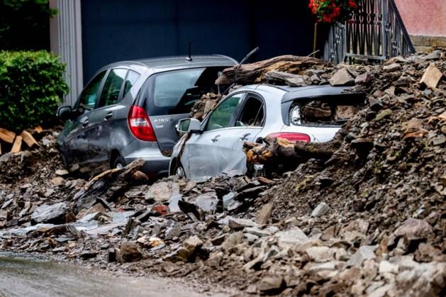 Dodental door watersnood in het westen van Europa boven de 180