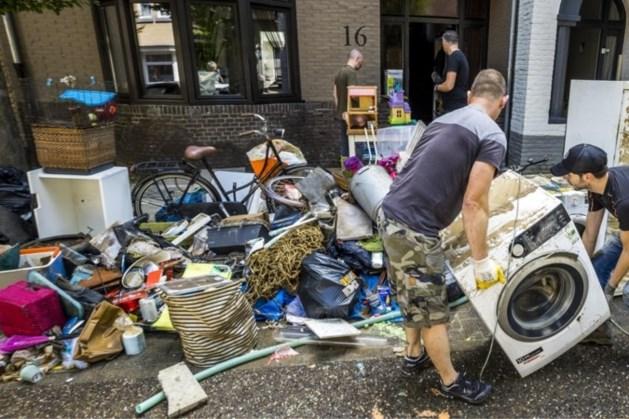 Aantal schademeldingen wateroverlast Zuid-Limburg loopt verder op