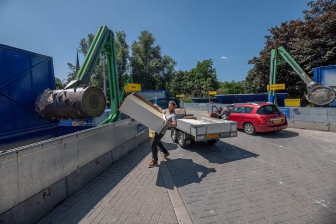Extra openstelling Rd4-milieupark schot in de roos na wateroverlast