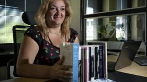 Schrijfster Tamara Haagmans naar boekhandel Krings in Sittard