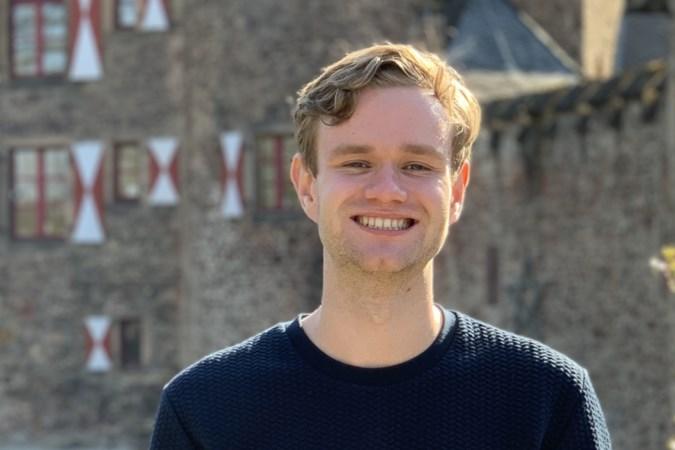 Stijn Kropman (22) beoogd wethouder in Landgraaf